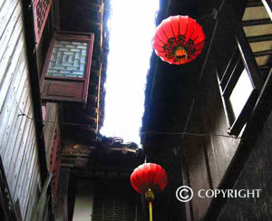 Close neighbour, Zhouzhuang row houses